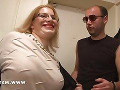 Amateur BBW Blonde Casting French