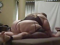 Ssbbw Rides Her Sub