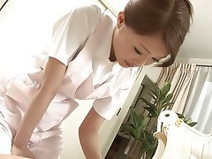 Blowjob Brunette Handjob Japanese