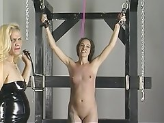 BDSM Blonde Brunette Latex