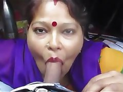 Amateur Blowjob Indian MILF