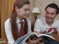 Anal Brunette Facial Russian Teen