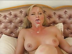 Big Boobs Blonde Blowjob Cumshot Facial