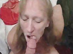Amateur Blowjob Close Up Cumshot MILF