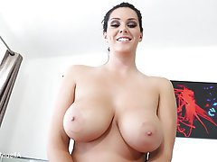 Babe Big Boobs Brunette Pornstar