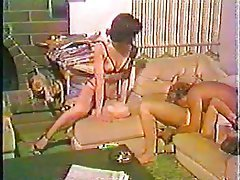 Hardcore Swinger Threesome Vintage