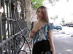 Anal Brunette