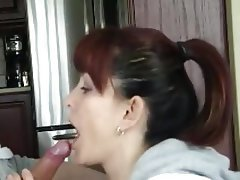 Blowjob Mature MILF Old and Young Redhead