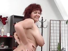 Big Boobs German Mature MILF Redhead