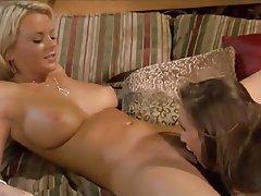 Big Boobs Blonde Brunette Cunnilingus Lesbian
