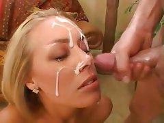 Babe Blowjob Close Up Cumshot Facial