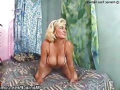 Blonde Facial Granny Hardcore Mature