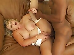BBW Big Boobs Blonde Cumshot MILF