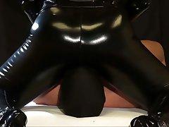 BDSM Face Sitting Femdom Latex