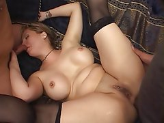 Anal Brunette Big Boobs Group Sex
