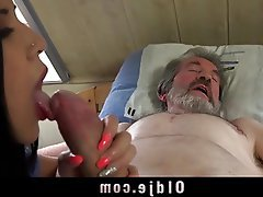 Blowjob Brunette Cumshot Old and Young