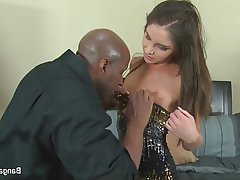 Brunette, Creampie, Interracial, Pornstar, Teen