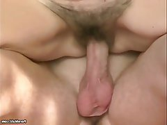 Facial Granny Hairy Mature Old and Young