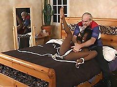 BDSM Interracial Brunette Lingerie