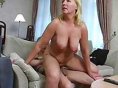 Wife saggy tits mature