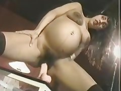 Brunette, Hairy, Masturbation