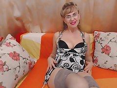 Mature anal on cam