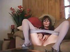 Amateur Brunette Masturbation Mature