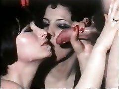 Double Penetration, German, Group Sex, Hairy, Vintage