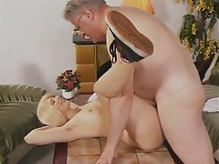 Blonde German Hairy Hardcore Old and Young