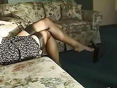 Blonde Czech Pantyhose Pornstar