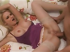 Big Boobs Blonde Lingerie MILF