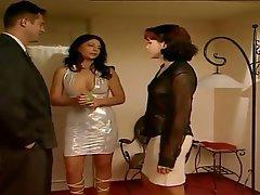 Anal Babe Italian Threesome
