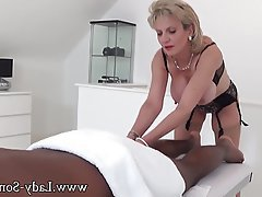 Big Boobs Handjob Interracial Massage MILF