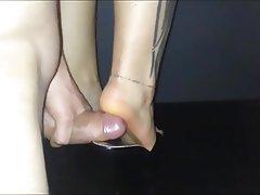 Amateur Foot Fetish Footjob High Heels