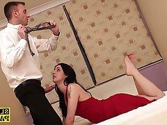 BDSM British Cumshot Foot Fetish