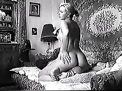 Blonde Face Sitting Femdom Russian Vintage