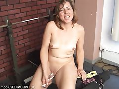 Mature Masturbation MILF Saggy Tits