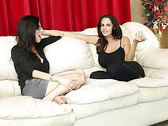 Big Boobs Brunette Cumshot Group Sex