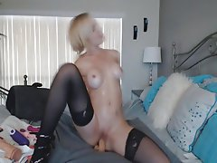 Babe, Big Boobs, Blonde, Masturbation, Webcam
