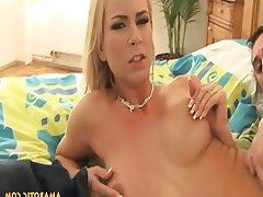 Blonde Czech Piercing Teen