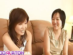 Asian Group Sex Japanese Threesome