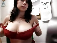 Amateur Big Boobs Brunette