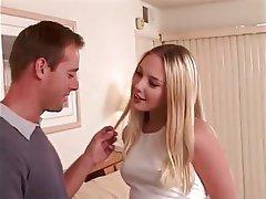 Blonde Casting Creampie