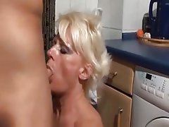 Cum in mouth Doggystyle German Granny Old and Young