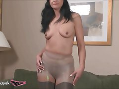Lingerie MILF Pantyhose Stockings