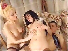 Hardcore Russian Threesome