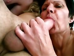 Granny Old and Young Threesome