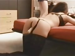 Amateur Anal Stockings Wife