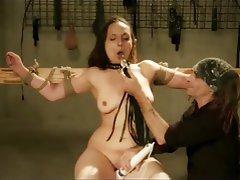 Hardcore BDSM Spanking Bondage