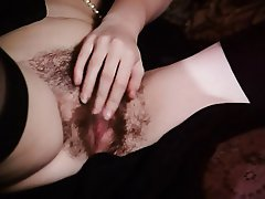 French Hairy Stockings Vintage